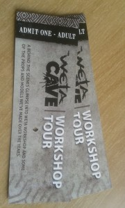 Tickets to the Weta Cave