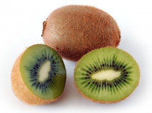 Kiwifruit. Not a kiwi.