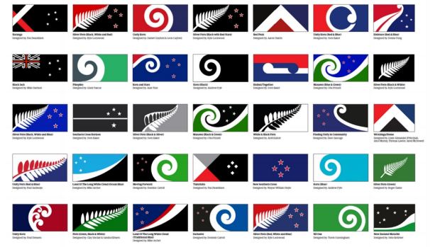 NZ Flag Top 40