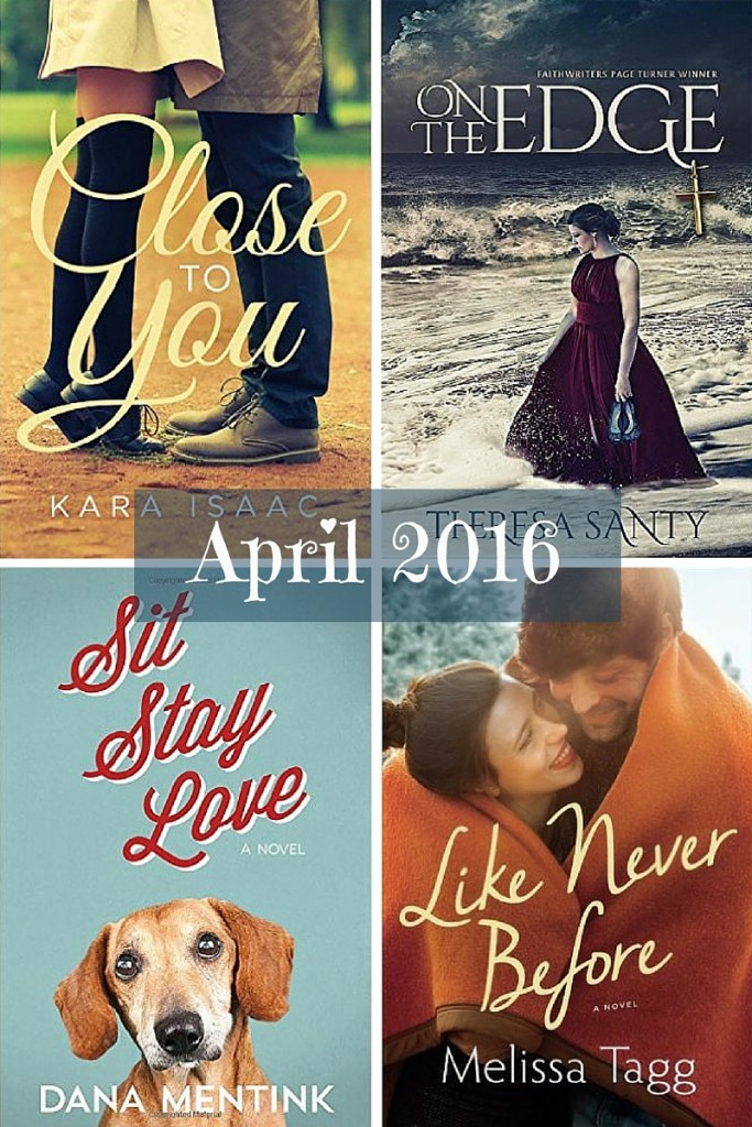 Top Christian fiction April 2016