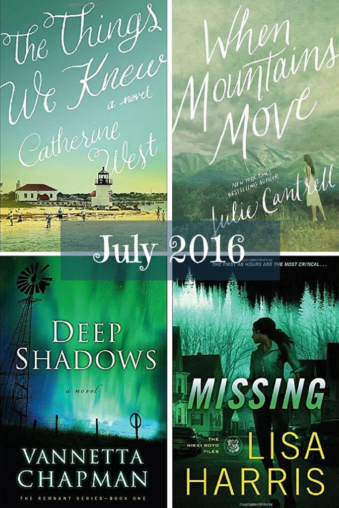 Favourite Reads - July 2016
