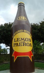 L&P Bottle, Paeroa, New Zealand