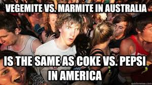 Marmite v Vegemite