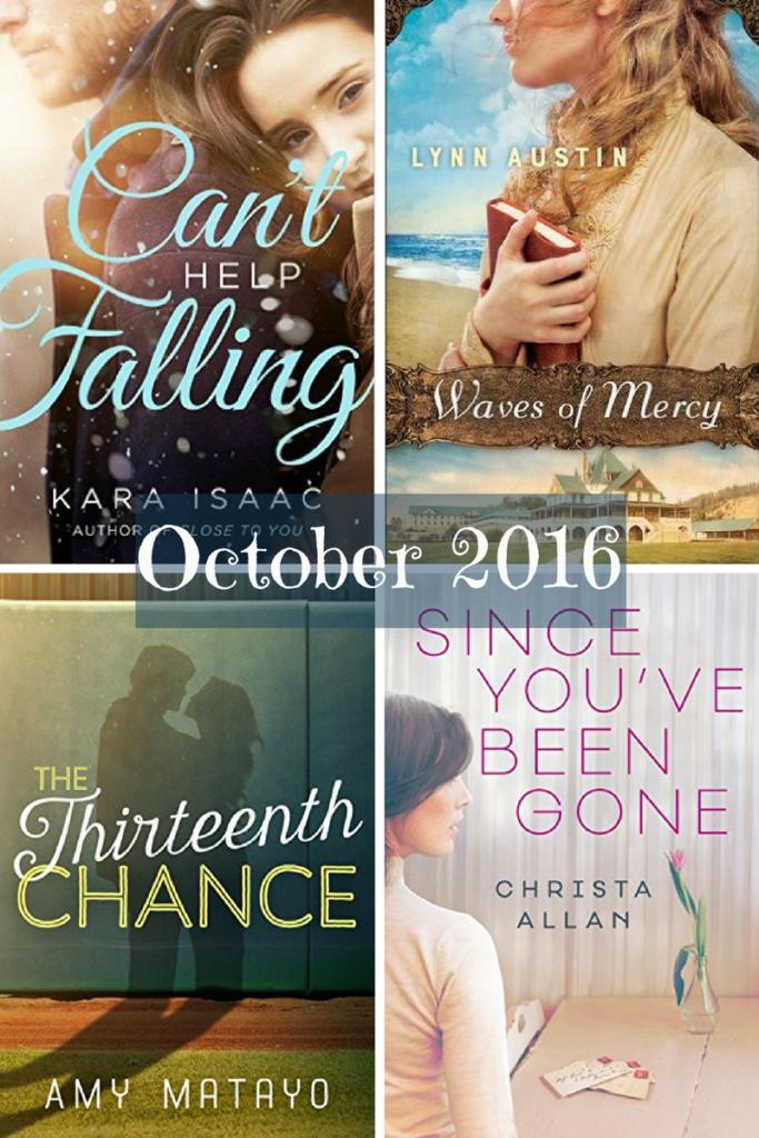 Best Christian Fiction October 2016