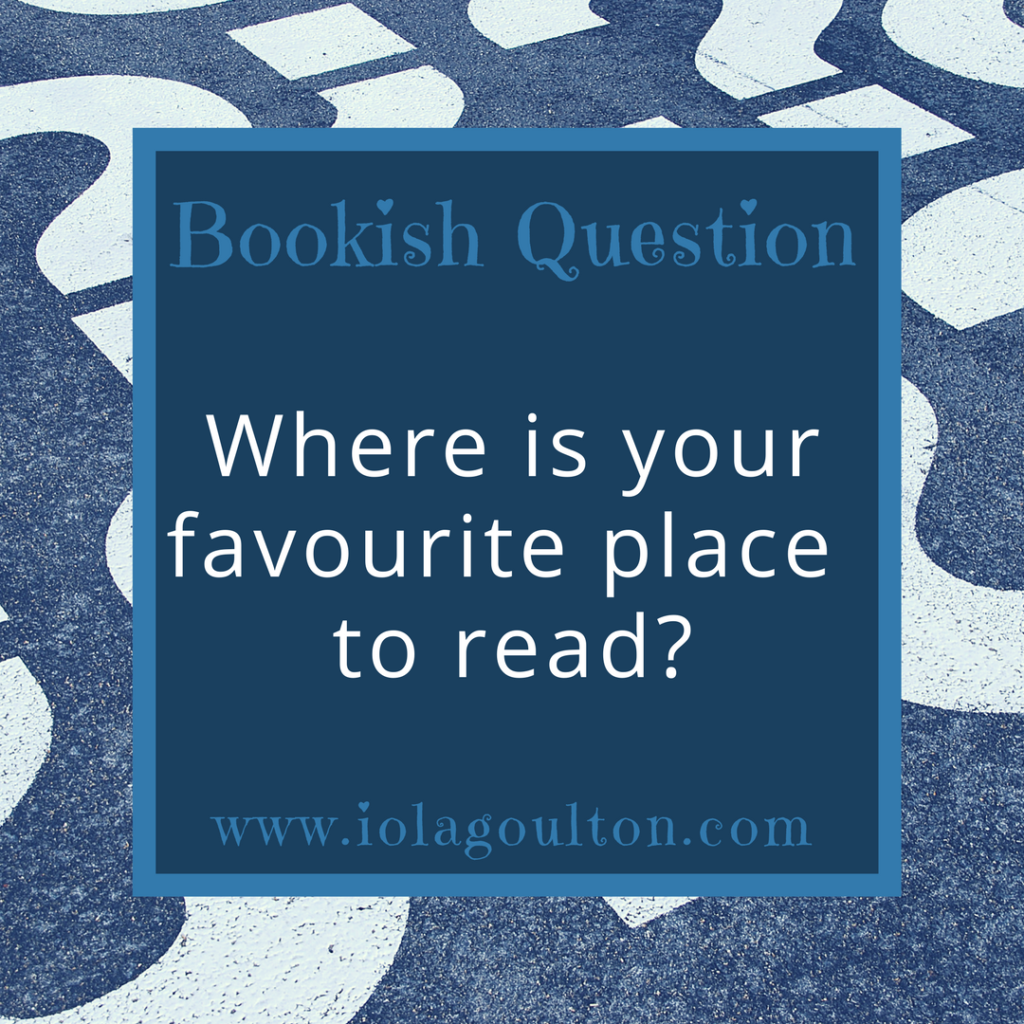 Where is your favourite place to read?