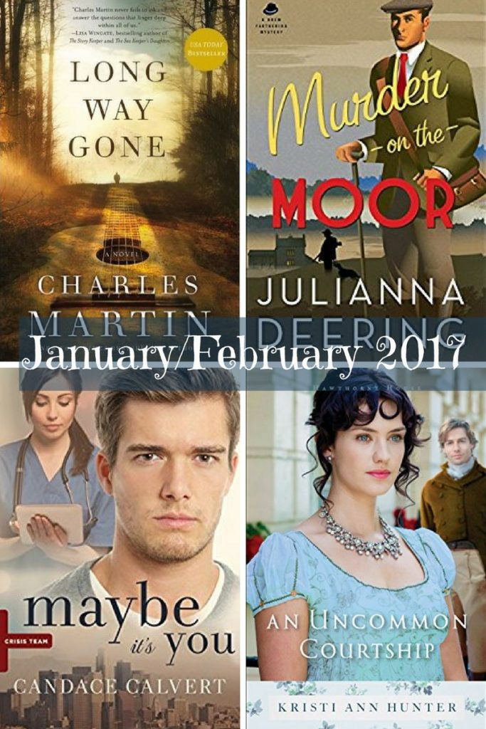 Christian Fiction January February 2017