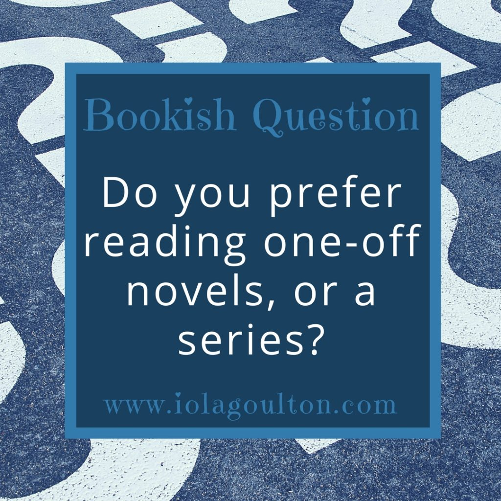 Bookish Question #7: Standalone or series?
