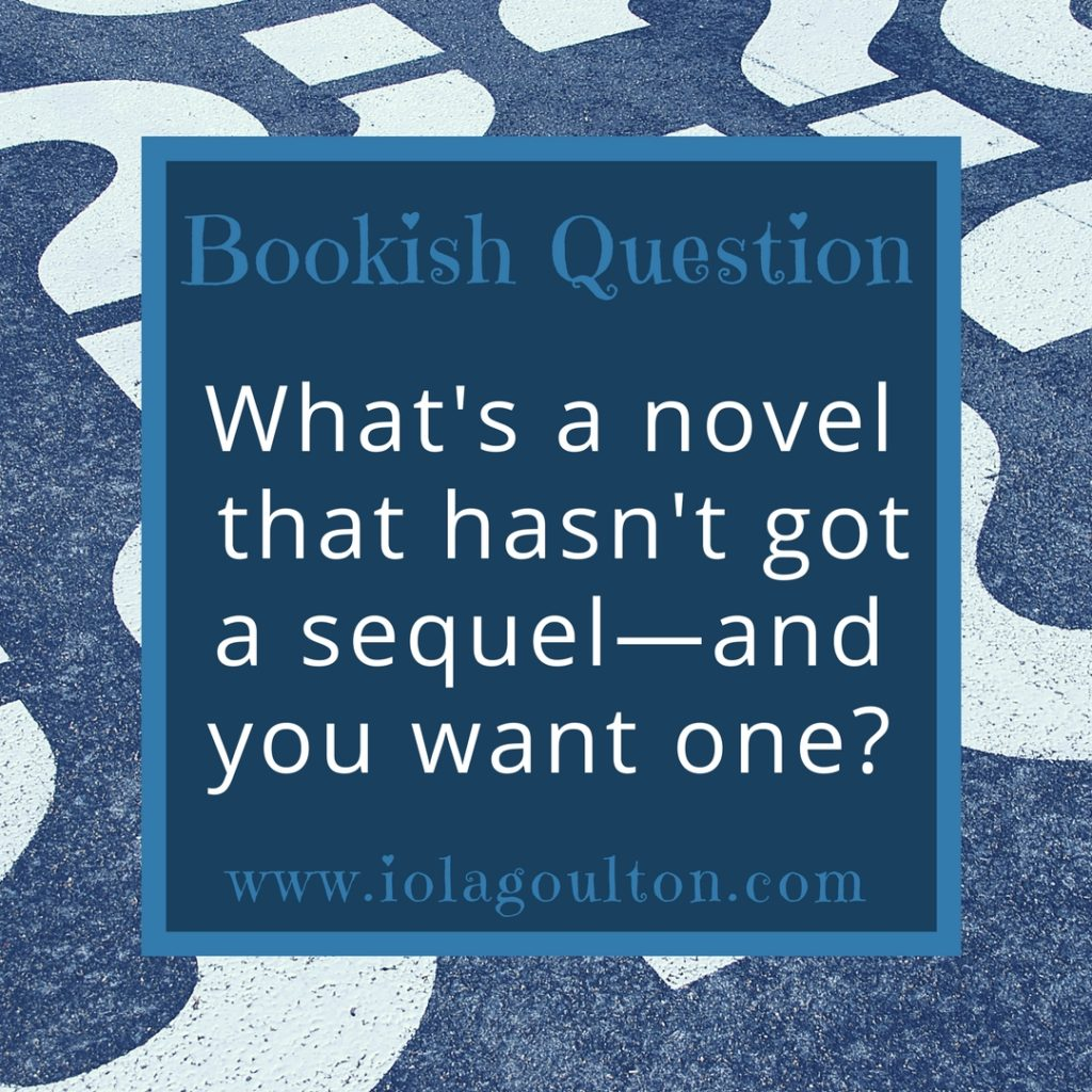 Bookish Question #8: Waiting for a sequel