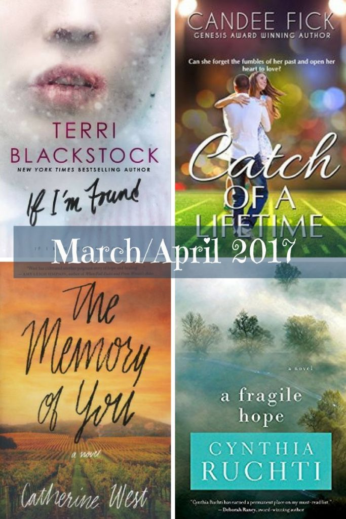 Book Recommendations for March/April 2017