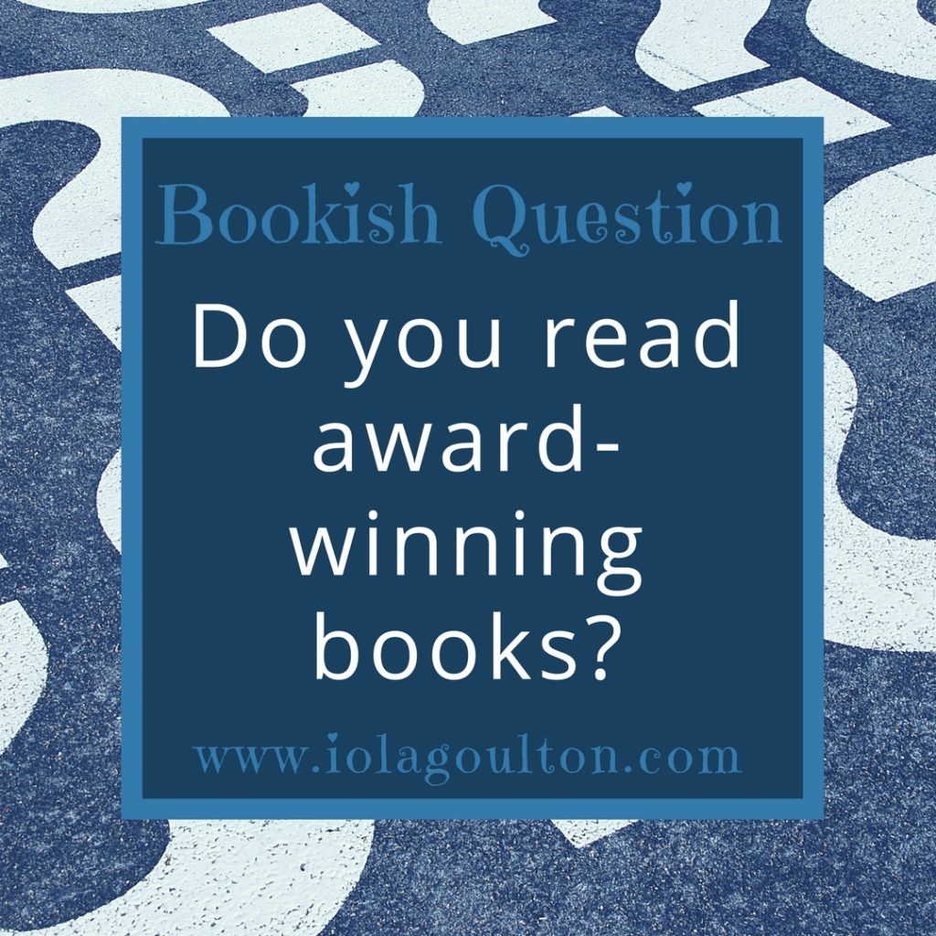 Do You Read Award-Winning Books?