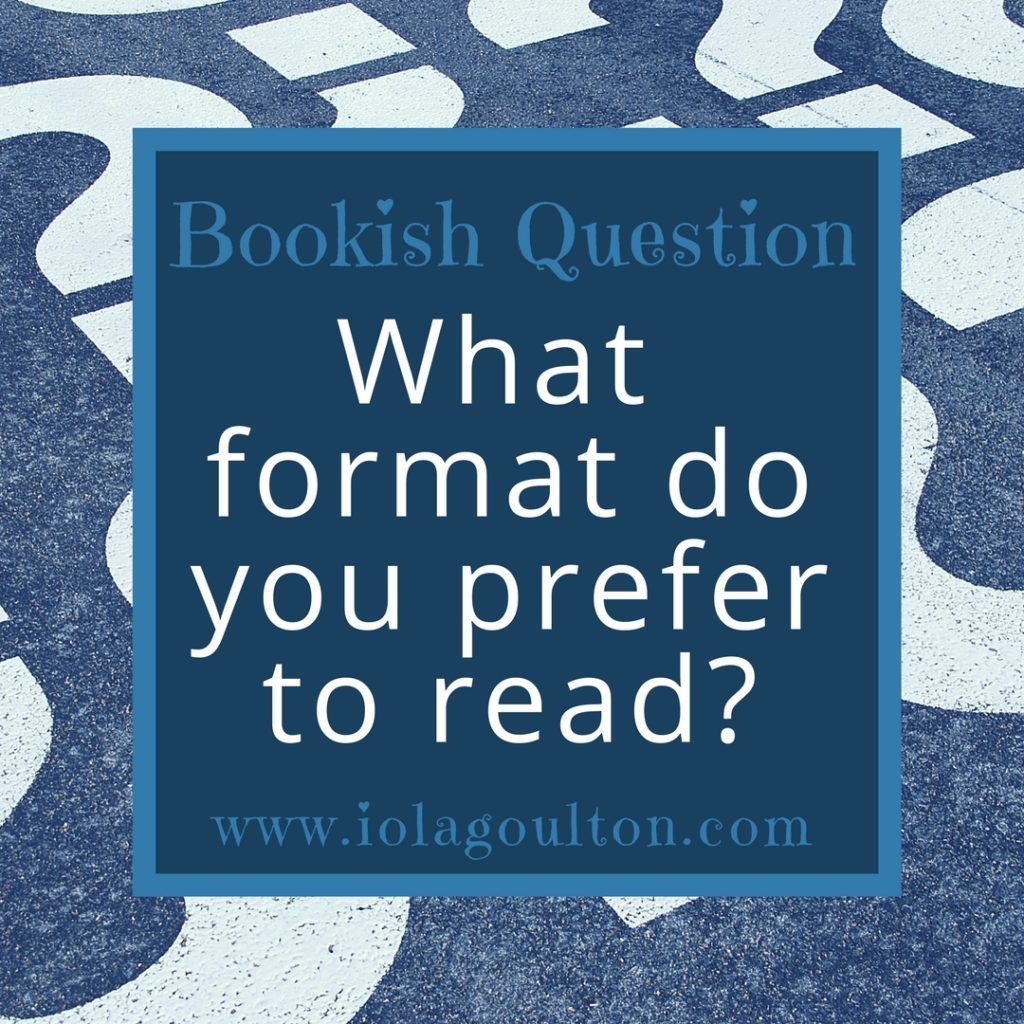 What format do you read?