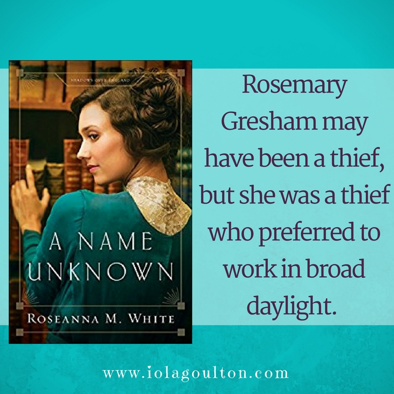 Quote from A Name Unknown by Roseanna M White