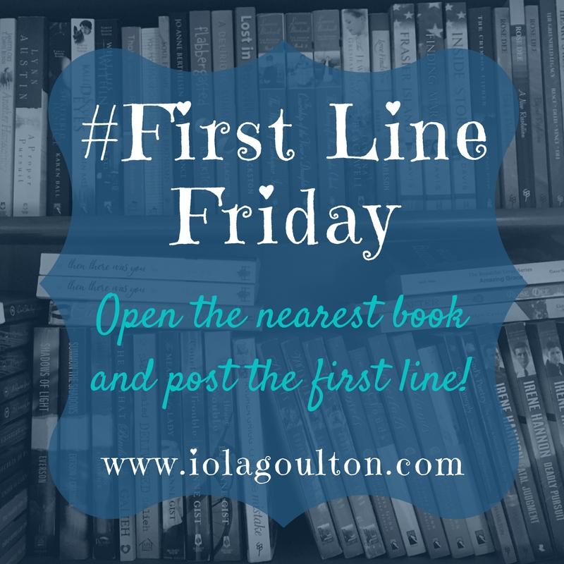#FirstLineFriday