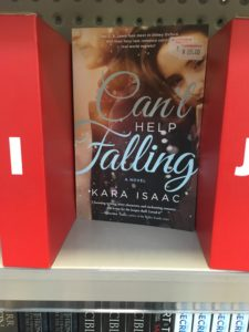 Can't Help Falling by Kara Isaac, spotted in The Warehouse Tauranga.