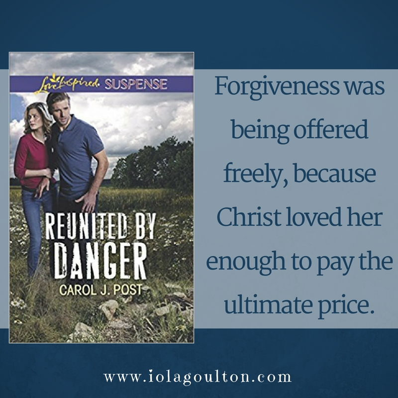Forgiveness was being offered freely, because Christ loved her enough to pay the ultimate price.