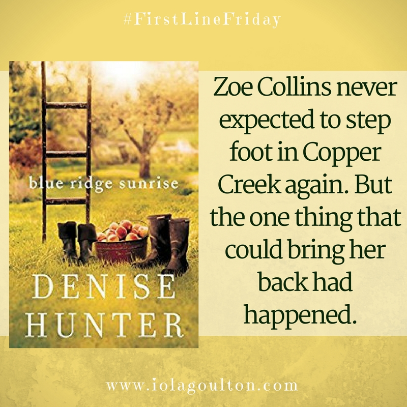Zoe Collins never expected to step foot in Copper Creek again. But the one thing that could bring her back had happened.