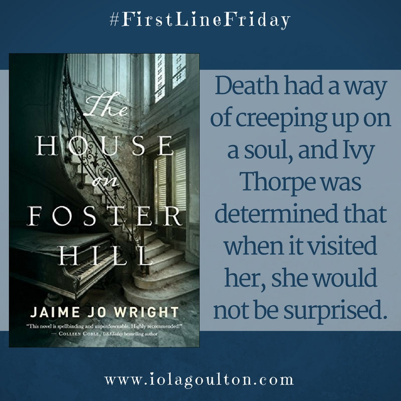 Quote from The House on Foster Hill
