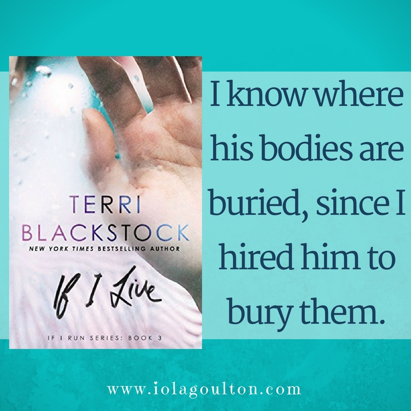 Book quote: I know where his bodies are buried, since I hired him to bury them.