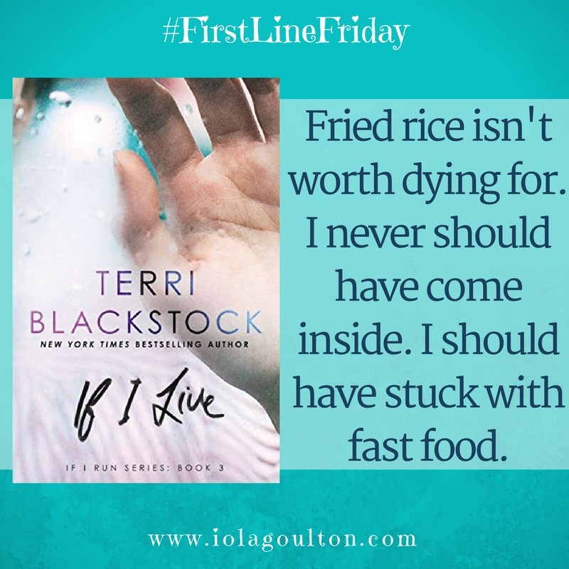 Quote from first lines: Fried rice isn't worth dying for. I never should have come inside. I should have stuck with fast food.