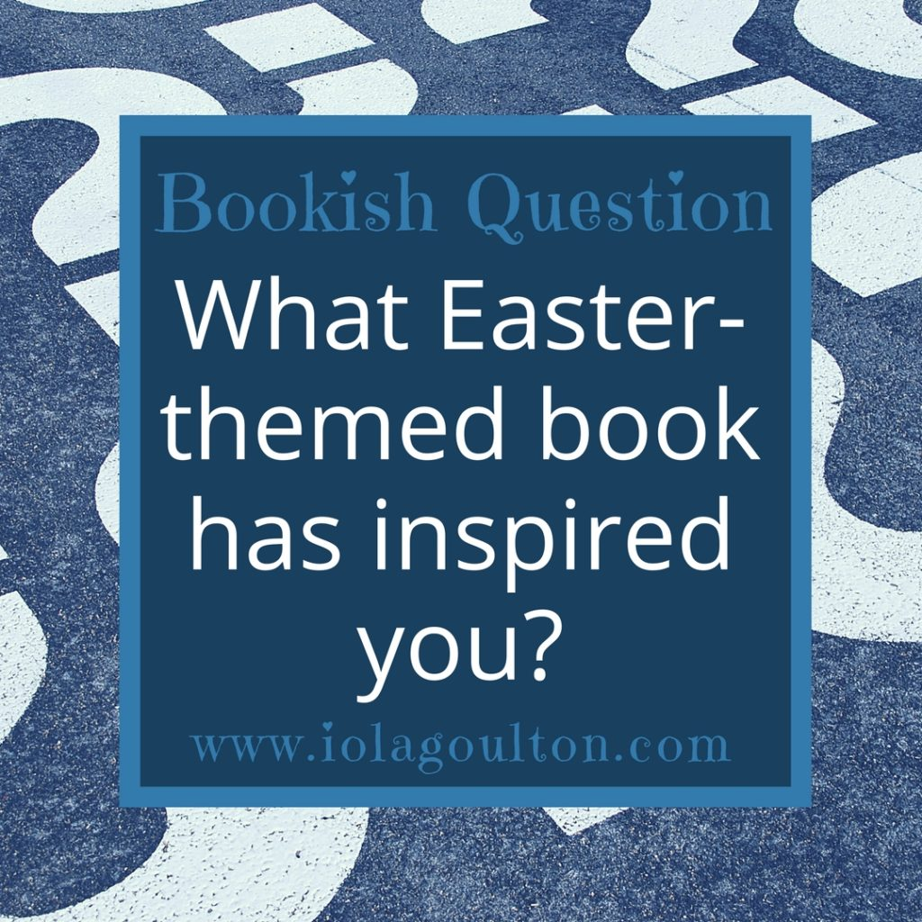 What Easter-themed book has inspired you?