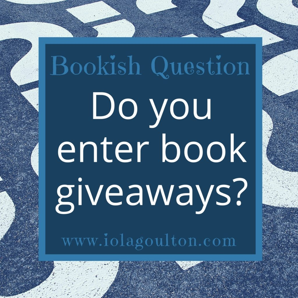 Do you enter book giveaways?