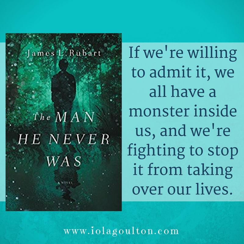 """Book Quote: """"If we're willing to admit it, we all have a monster inside us, and we're fighting to stop it from taking over our lives."""""""