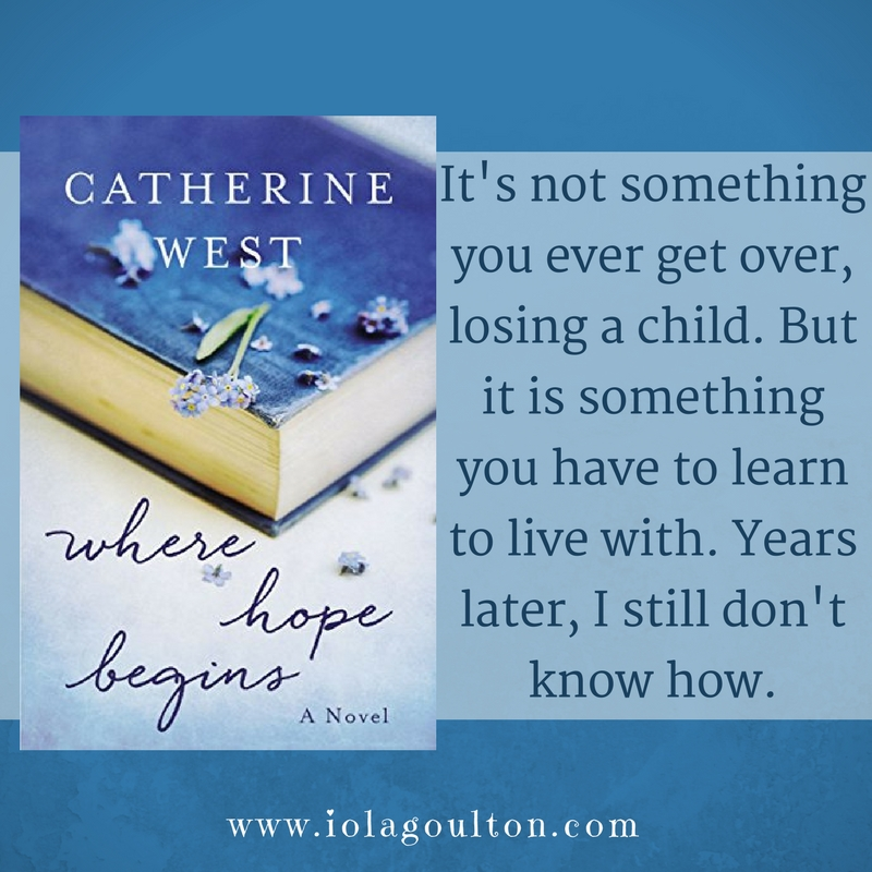 Quote: It's not something you ever get over, losing a child. But it is something you have to learn to live with. Years later, I still don't know how.