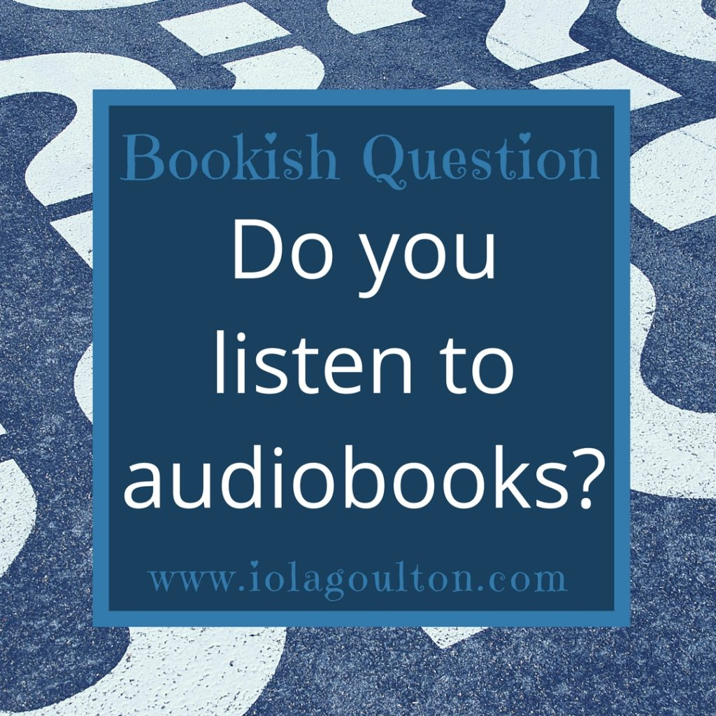 Do you listen to audiobooks?