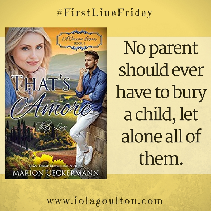 Book Quote: No parent should ever have to bury a child, let alone all of them.