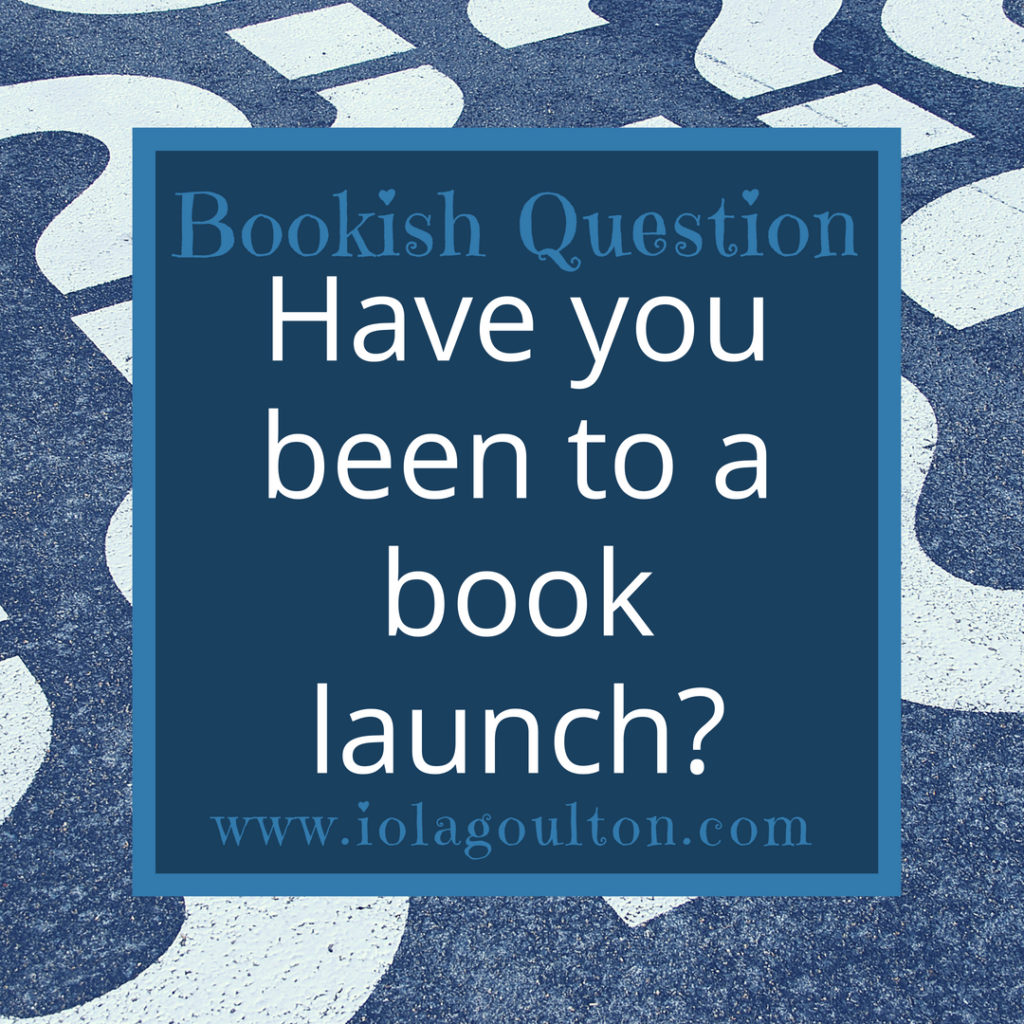 Have you been to a book launch?