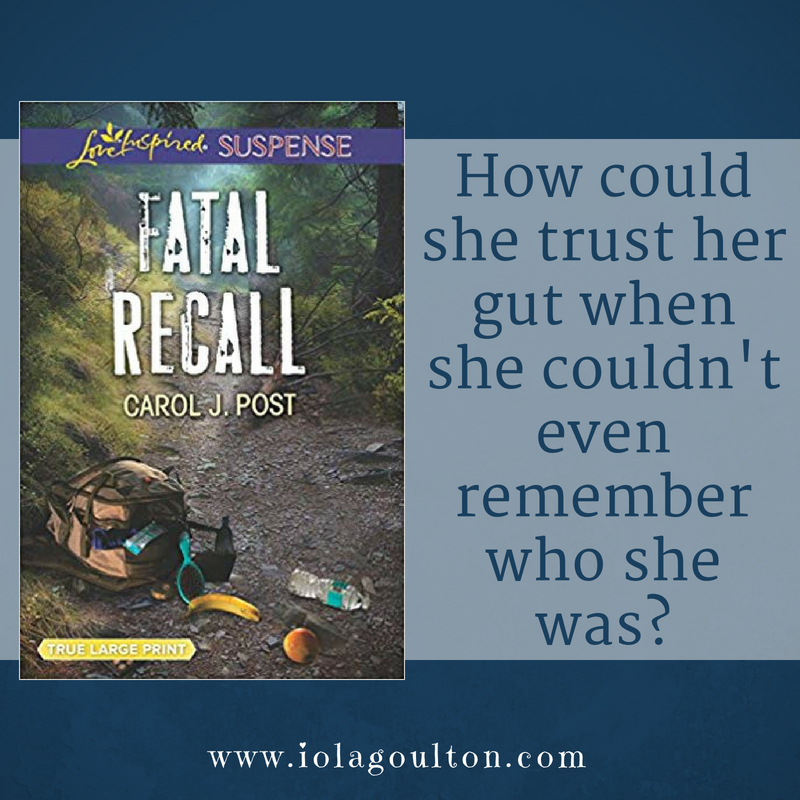 Quote from Fatal Recall: How could she trust her gut when she couldn't even remember who she was?