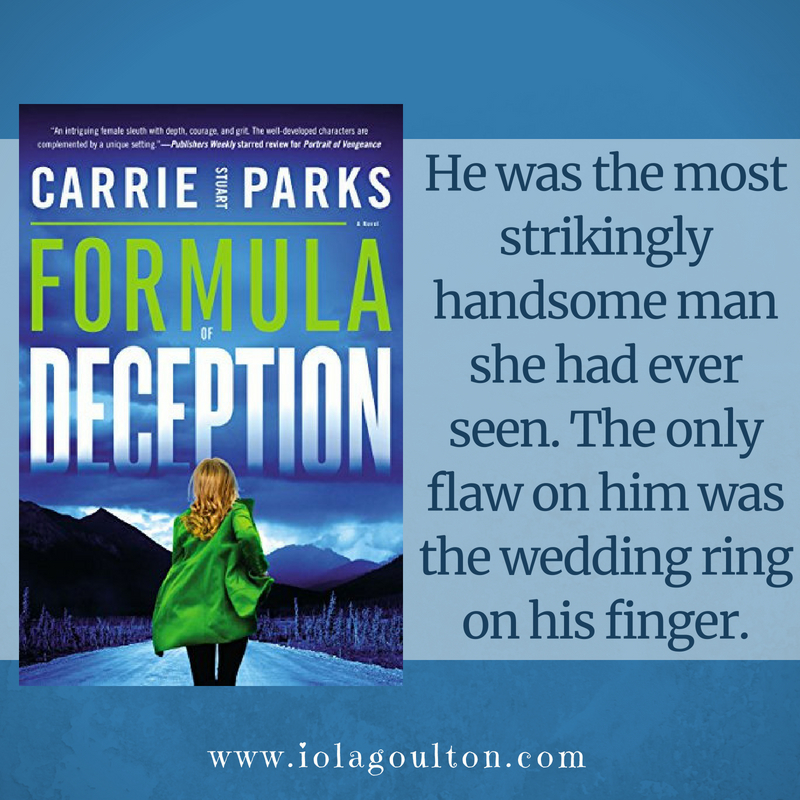 Quote from Formula of Deception: He was the most strikingly handsome man she had ever seen. The only flaw on him was the wedding ring on his finger.