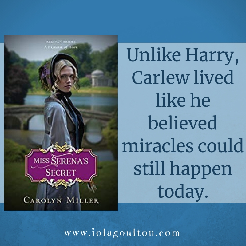 Quote from Miss Serena's Secret by Carolyn Miller