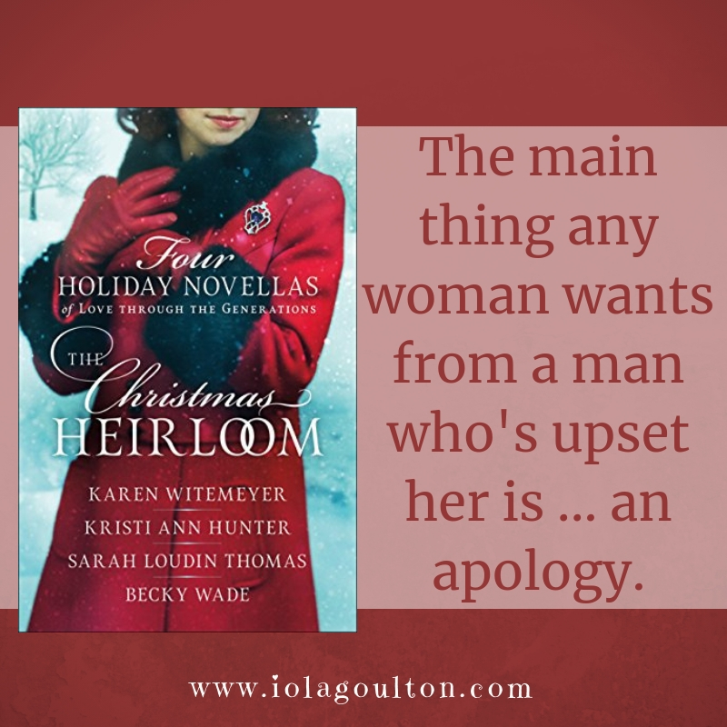 Quote from A Shot at Love by Sarah Loudin Thomas, featured in Christmas Heirloom