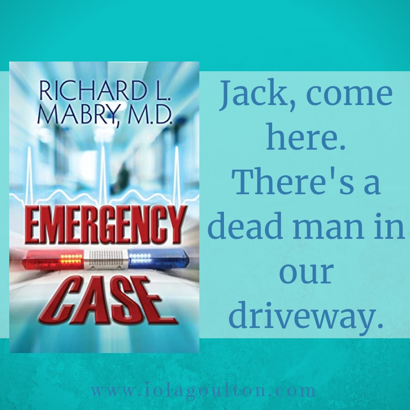 Quote from Emergency Case: Jack, come here. There's a dead man in our driveway.