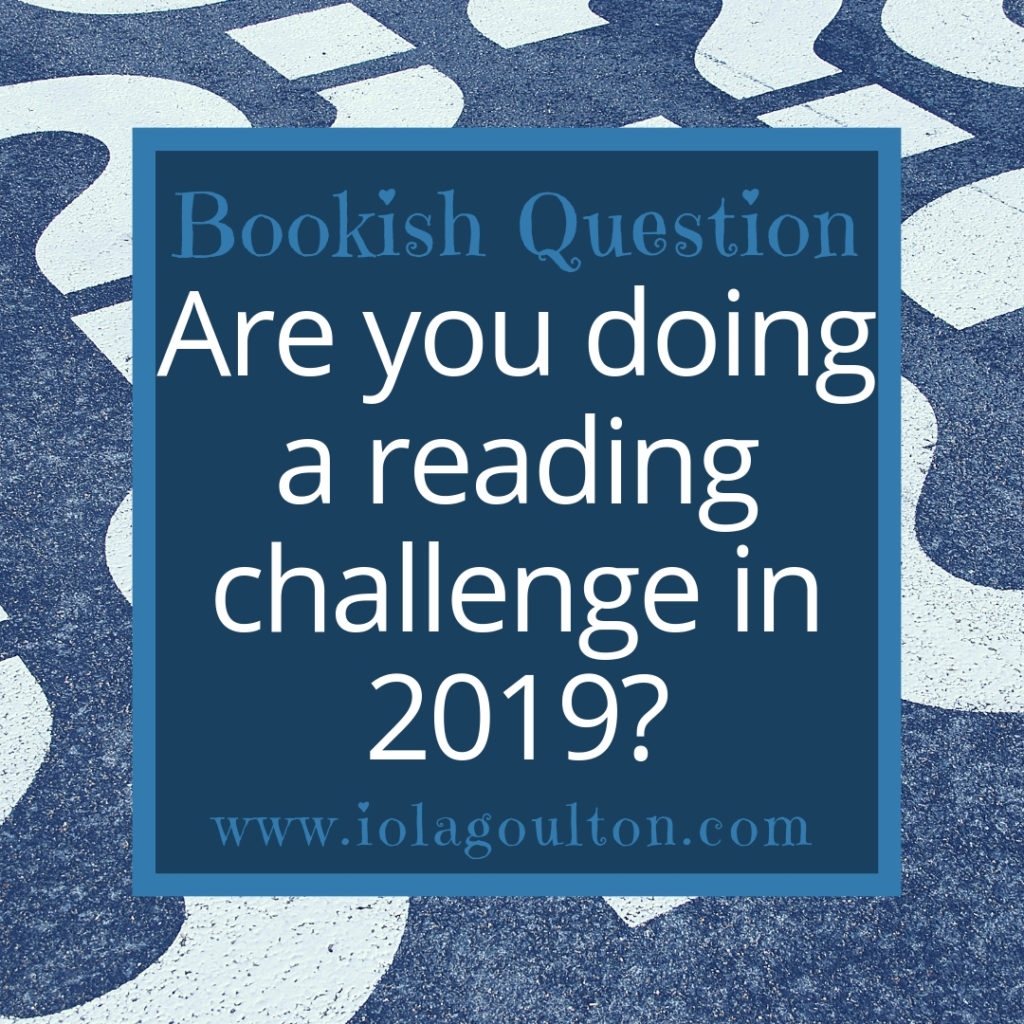 Are you doing a reading challenge in 2019?