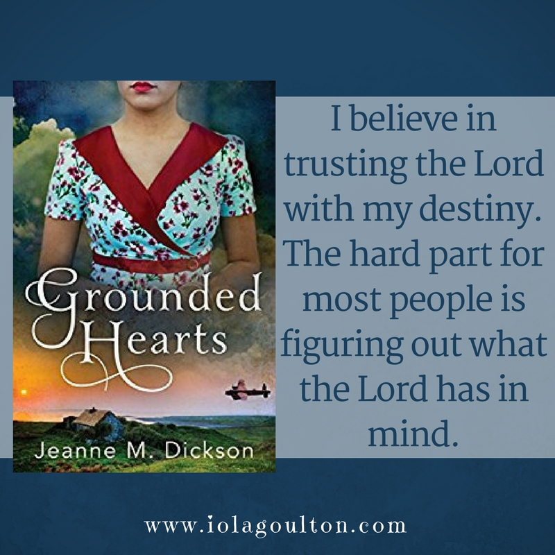 Quote from Grounded Hearts by Jeanne M Dickson: I believe in trusting the Lord with my destiny. The hard part for most people is figuring out what the Lord has in mind.