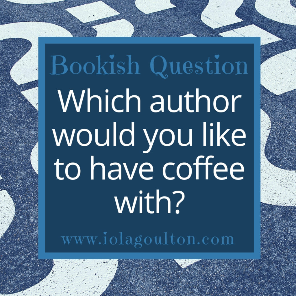Which author would you like to have coffee with?