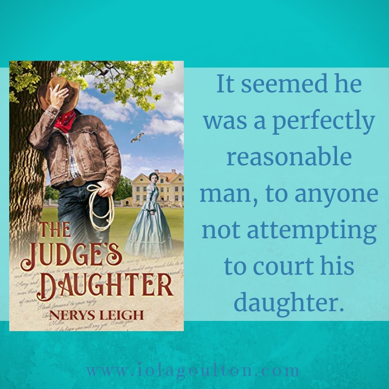 It seemed he was a perfectly reasonable man, to anyone not attempting to court his daughter.