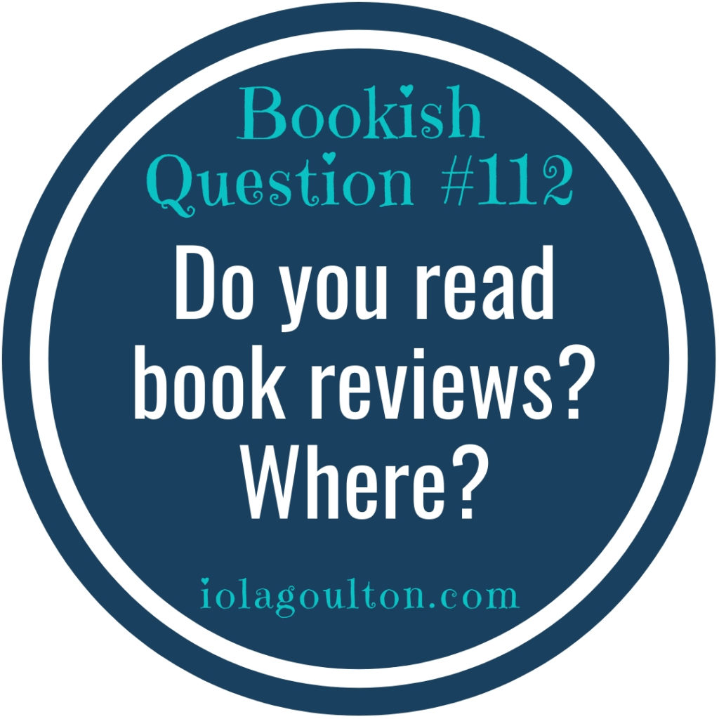 Do you read book reviews? Where?