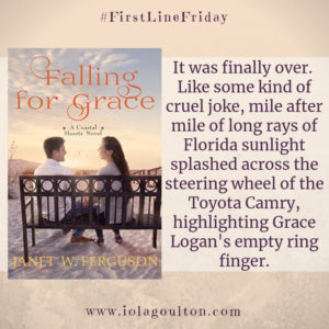 It was finally over. Like some kind of cruel joke, mile after mile of long rays of Florida sunlight splashed across the steering wheel of the Toyota Camry, highlighting Grace Logan's empty ring finger.