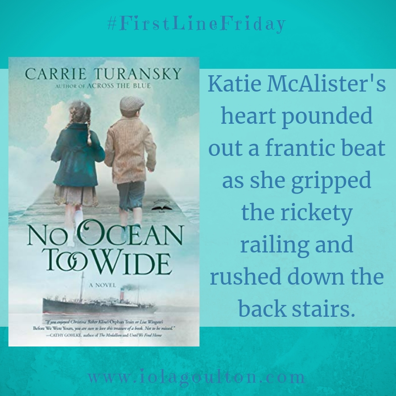 Katie McAlister's heart pounded out a frantic beat as she gripped the rickety railing and rushed down the back stairs.