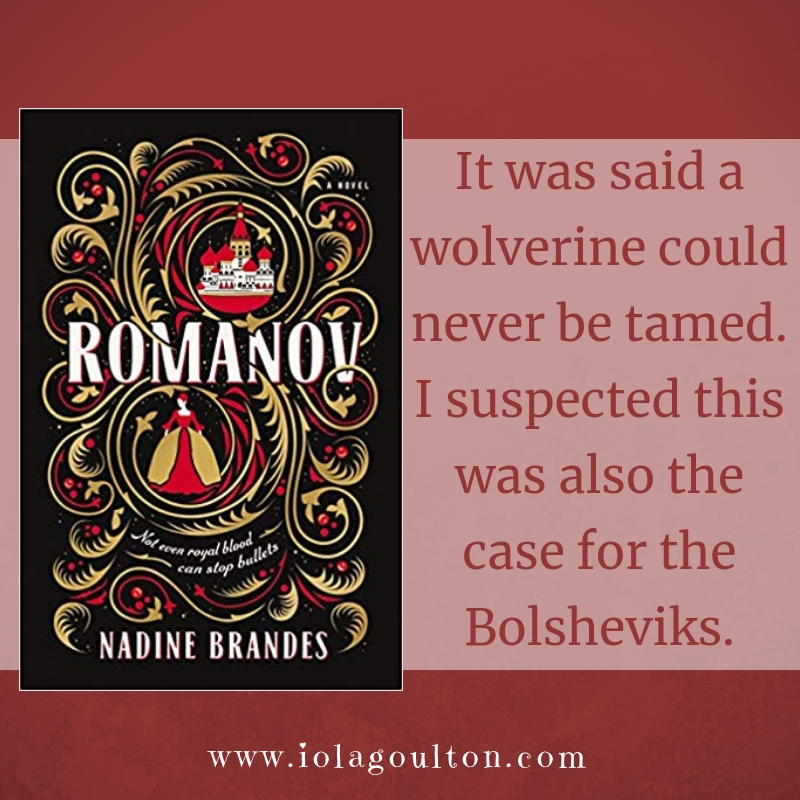 It was said a wolverine could never be tamed. I suspected this was also the case for the Bolsheviks.