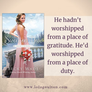 He hadn't worshipped from a place of gratitude. He'd worshipped from a place of duty.