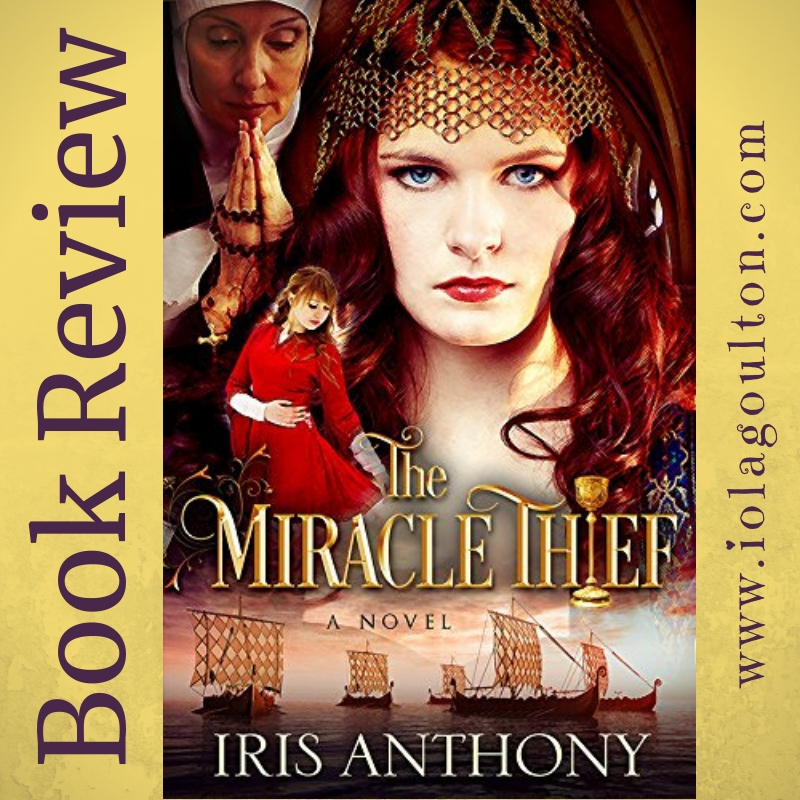 Cover image of The Miracle Thief by Iris Anthony aka Siri Mitchell